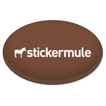 Custom-oval-buttons