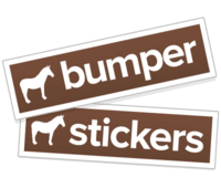 Bumper Stickers Free Shipping Sticker Mule - Custom made bumper stickers
